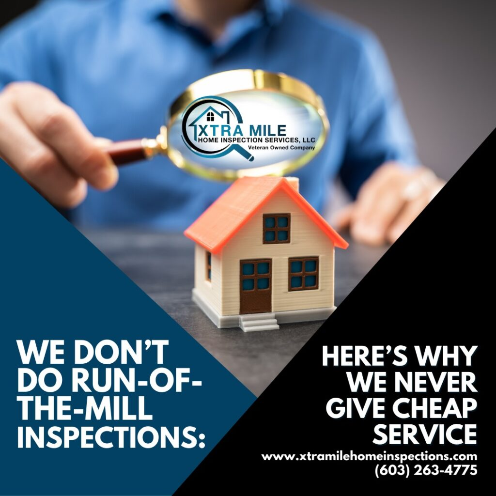 Nashua NH Home Inspection – We Don't Do Run Of The Mill Inspections: Here's Why We Never Give Cheap Service